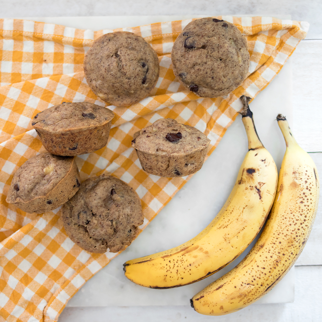 Easy Vegan Banana Muffins