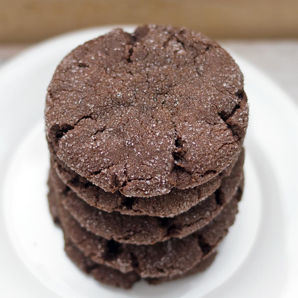 Easy Vegan Dutch Cocoa Cookies