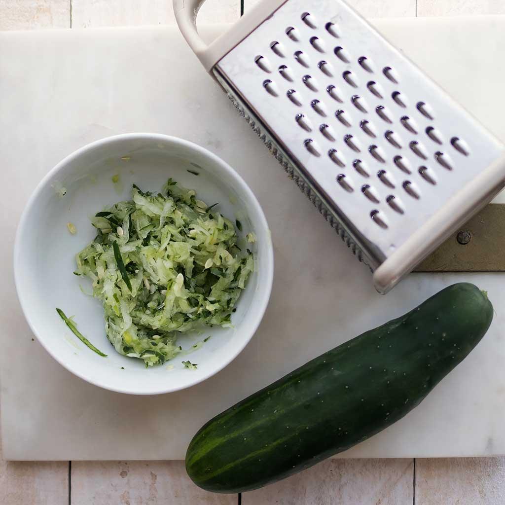 Easy Vegan Tzatziki- No Tofu or Cashews