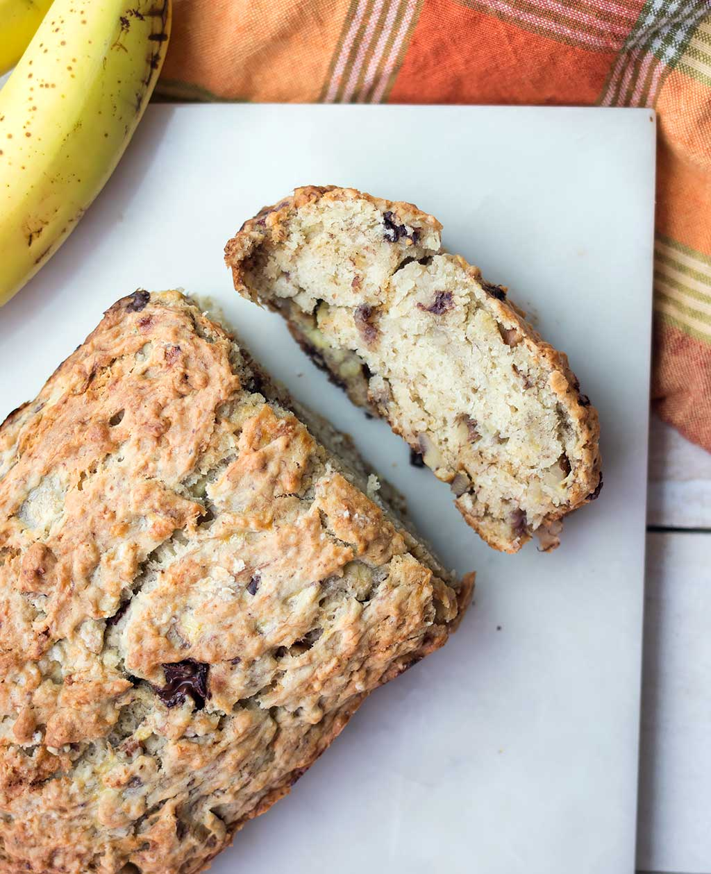 1 Bowl Vegan Chocolate Walnut Banana Bread